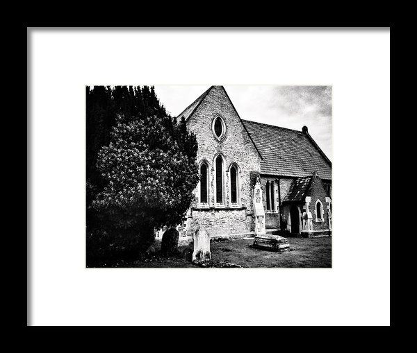 Stone Church  Framed Print By Fine Art By Andrew David