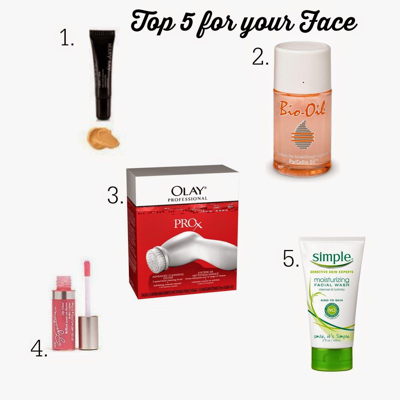Let It Shine Top 5 Face Olay Prox Facial Wash Face