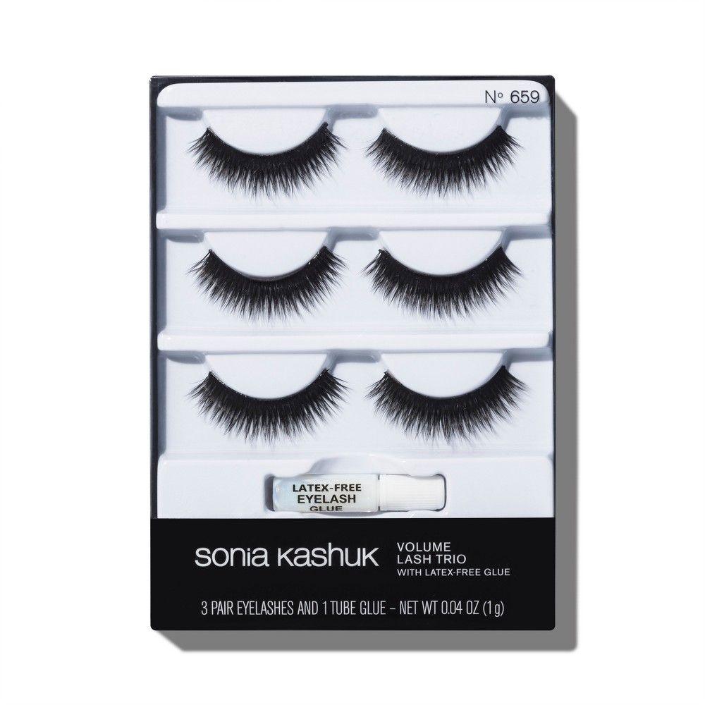 0889a12b70c Sonia Kashuk Daytime False Eyelashes Trio - 3 Pair | Products | Sonia kashuk,  Eyelashes, False eyelashes