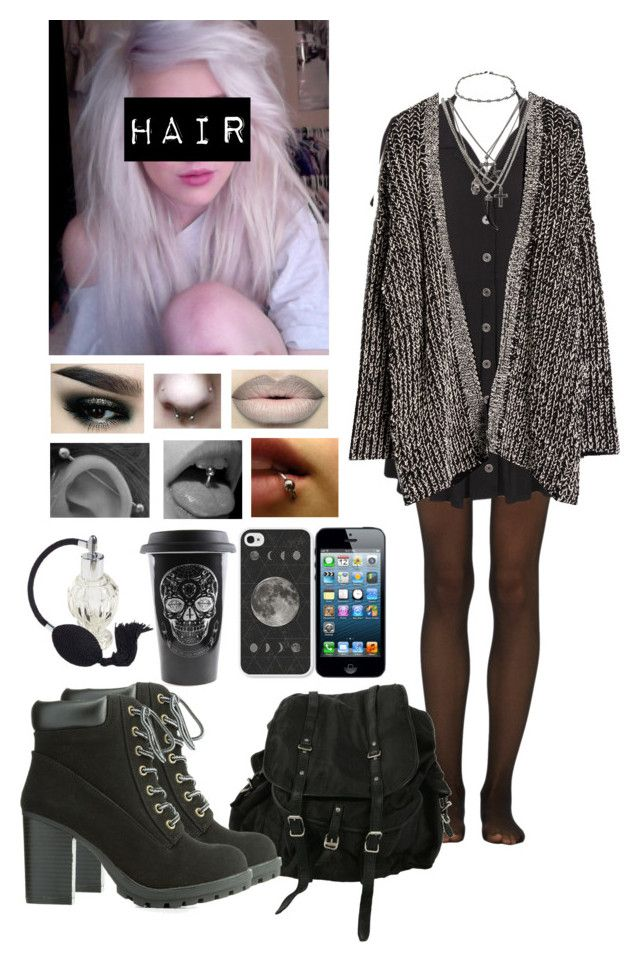 """""""Untitled #404"""" by xxbrokendollxx on Polyvore featuring Fogal, Evil Twin, MANGO, AllSaints, Charlotte Russe and Accessorize"""