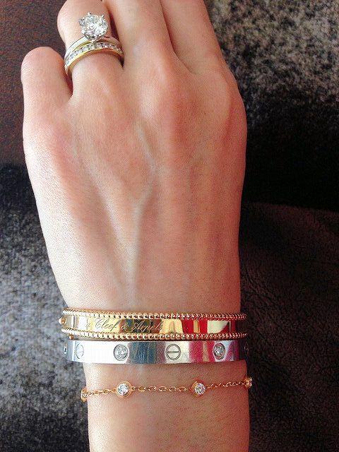 Cartier Bracelet And Vca Perlee Bracelet If I Was A Rich