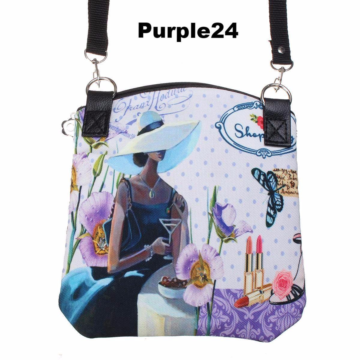 52d83cdcb0d4 New Women Messenger Bags Vintage Canvas Printing Small Satchel Shoulder  European Style Girls Handbag Lady Bolsa Crossbody Bag