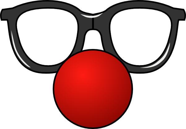 Clown Nose Transparent Google Search Funny Glasses Diy Photo Booth Props Clown Nose
