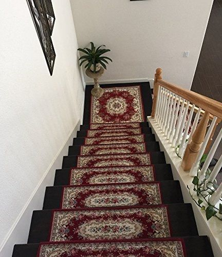 Acrylic Non Slip Stair Runner Rug Stair Treads Carpet Door Mat | Rug Stair Treads Non Slip | Vinyl Flooring | Skid Resistant | 8.5 X26 | Overstock | Mat