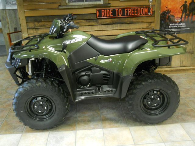 Big Four Wheelers >> 2012 Suzuki KING QUAD 4-Wheeler , Hunter Green, 40 hours for sale in Archie, MO | ATV | 4 ...