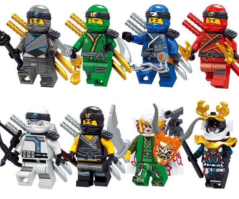 Ninjago Nya Samuria X Sons of Garmadon Lloyds Ninja Toy Custom Lego Mini Figure