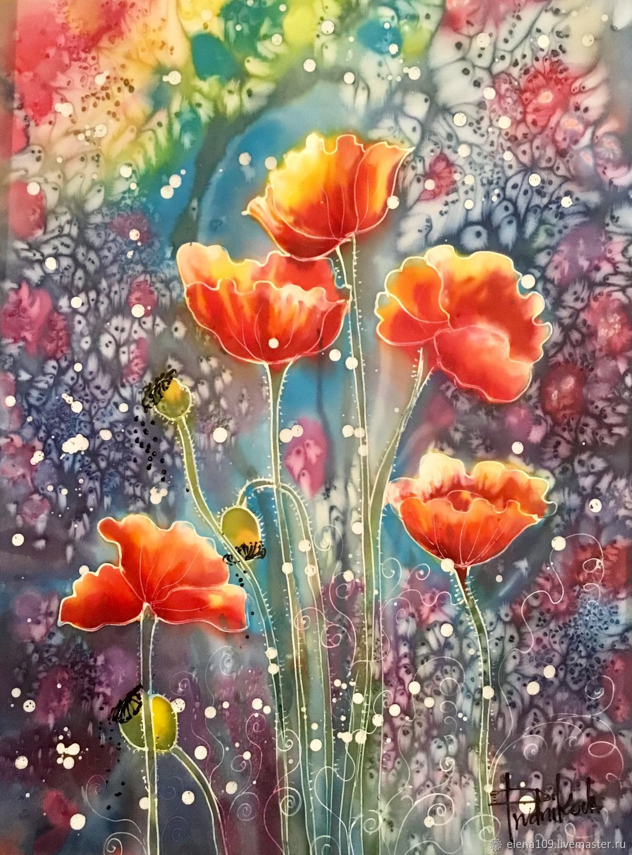 Цвет цветка ирис