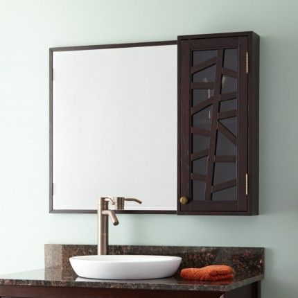 36 Louise Medicine Cabinet Dark Brown Bathroom Pinterest Cabinetedicine