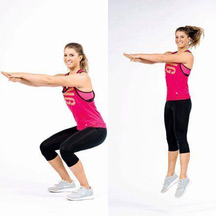 Ganzkörper Workout. Ein Programm mit tolle Übungen -Bodyshape. Würde für den Zeitschrift Gesund & Fit gemacht .
