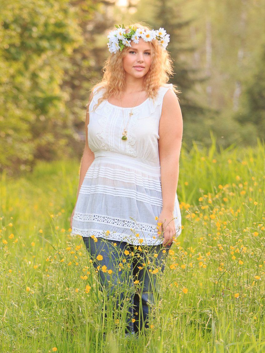 Plus Size boho top at www.lucyclothing.ca. LOVE the style... AND the price! $44.99