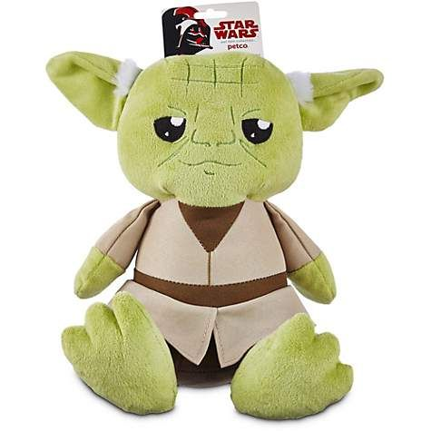 STAR WARS Yoda Plush Toy for Dogs, Medium Plush dog toys