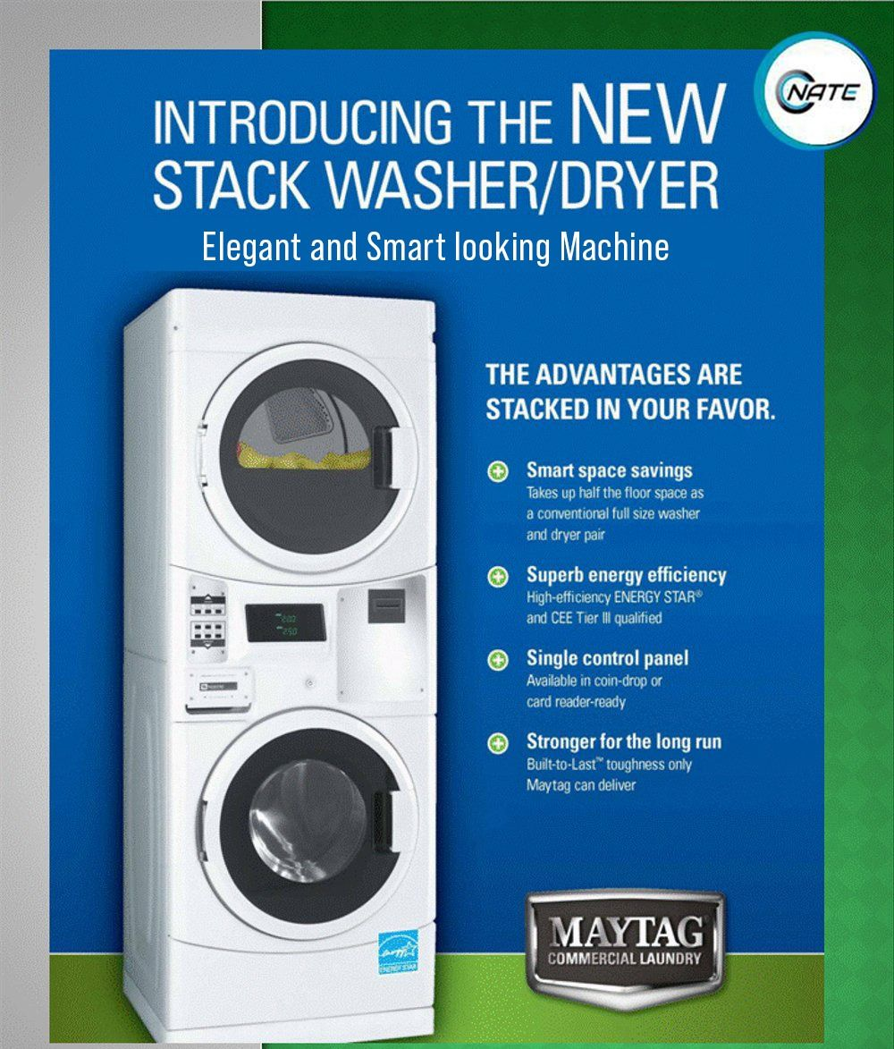 Introducing The New Maytag Stack Washer Dryer In 2020