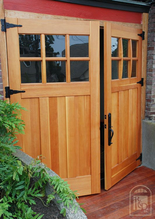 Double Garage Entry Doors  Garage Door Design, Garage