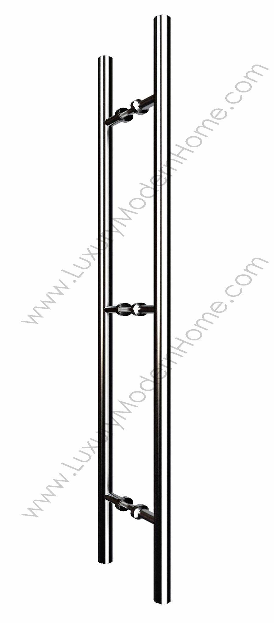 48 Ladder Style Pull Handle Woodglass Modern Door Pulls