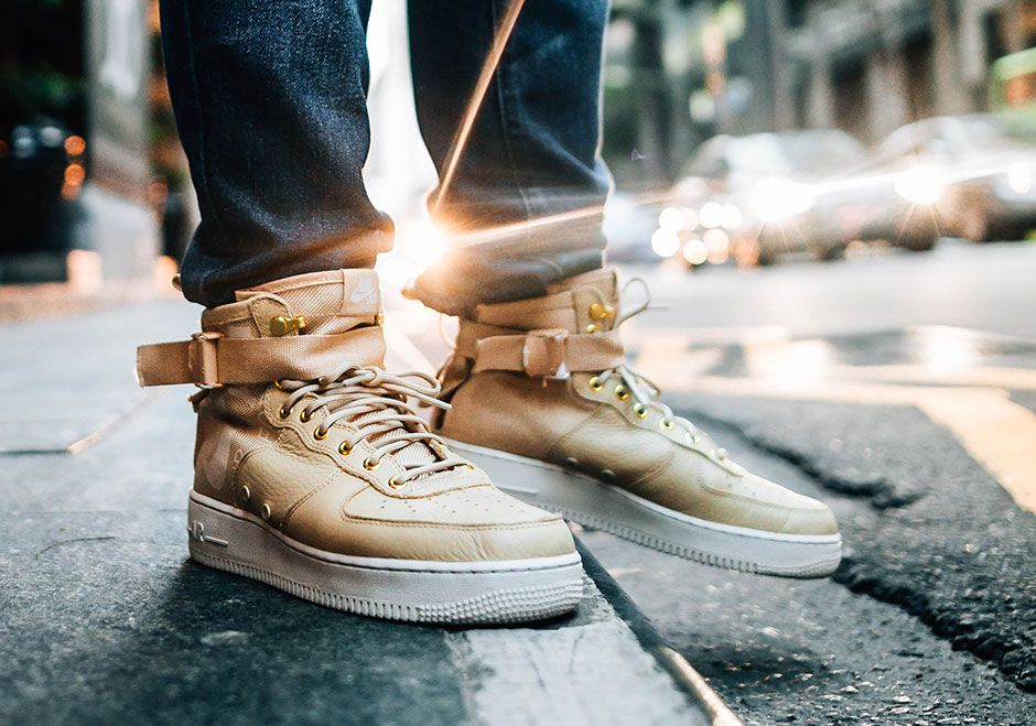 nike sf air force 1 mushroom