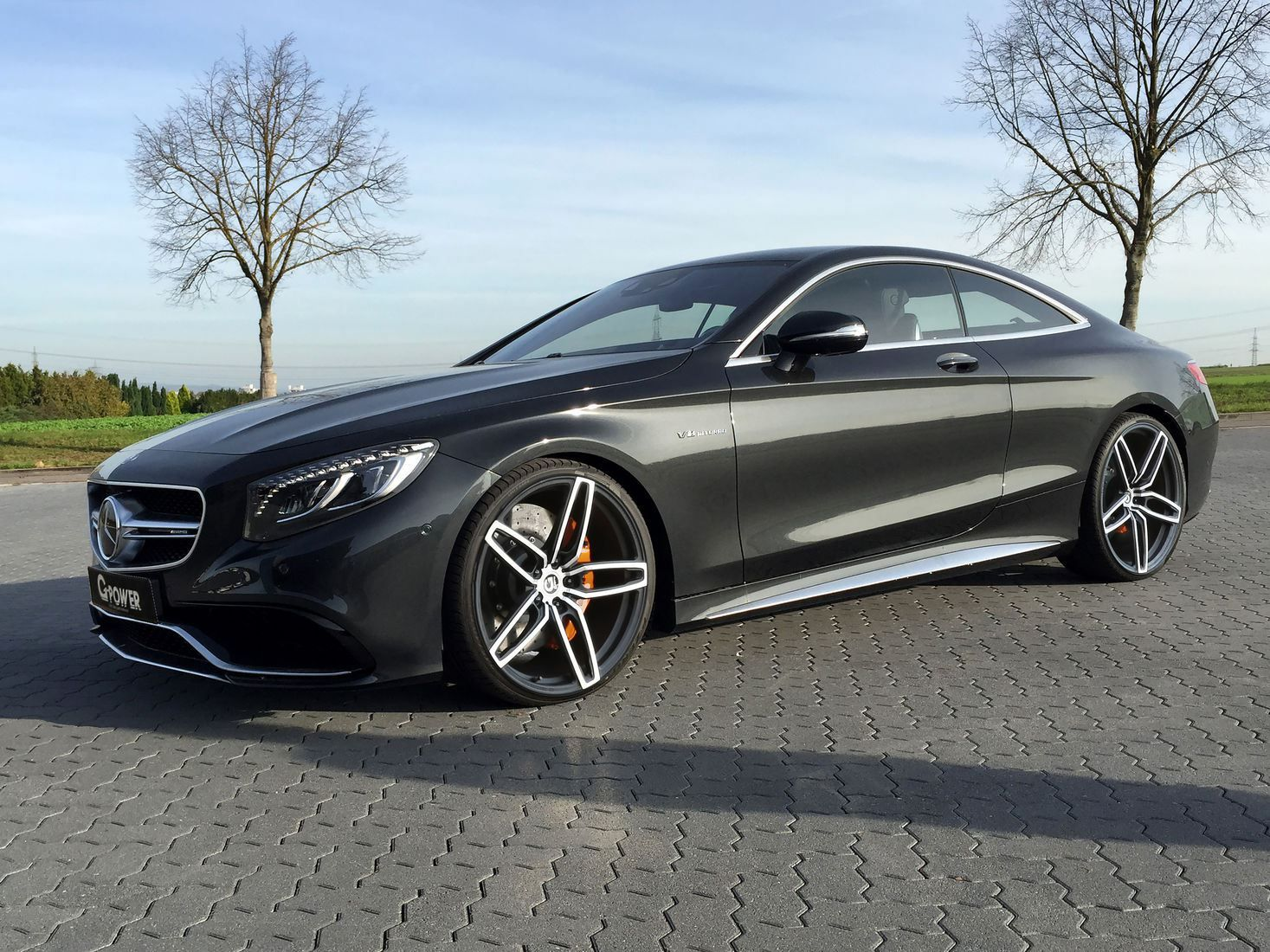 Mercedes Benz S63 Amg Coupe By G Power Car Substance Mercedes Benz Cl Mercedes Benz Cars Black Mercedes Benz