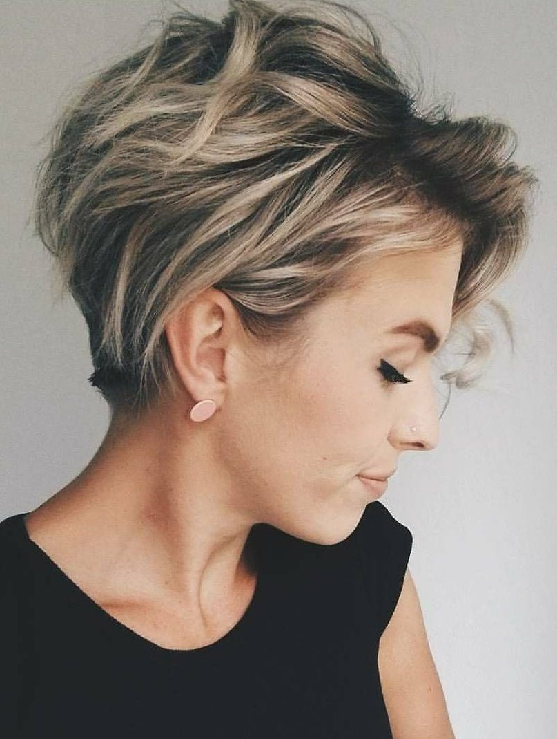 50 Latest Short Haircuts For 2019 Get Your Hairstyle Inspiration For Summer With Hairstyle Short Messy Haircuts Latest Short Haircuts Short Hair Color