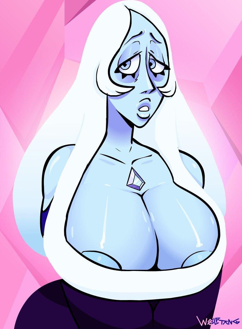 blue diamond barely fits   (18+) cartoon babes   pinterest   steven