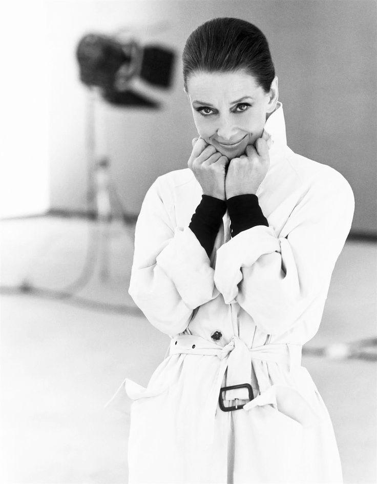 Audrey Hepburn by Steven Meisel for Vanity Fair, 1991