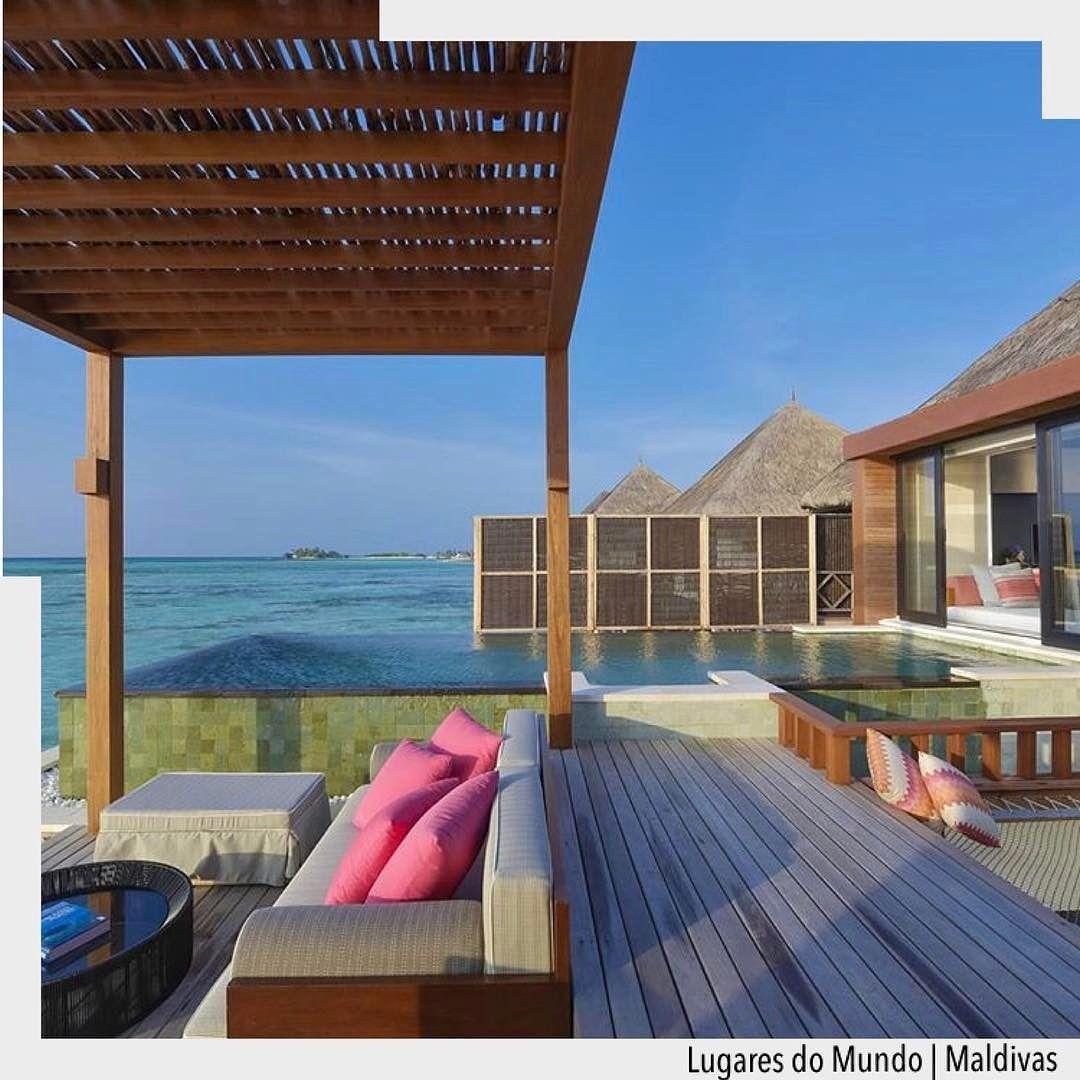 """Desejo do dia """"Maldivas"""". Via: Fourseasonbr"""