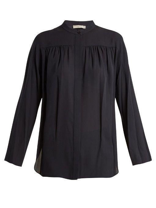 c16d6de71fcf1 VINCE Silk-Georgette Blouse.  vince  cloth  blouse