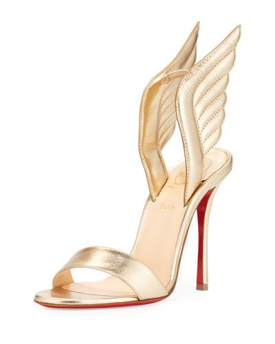cfb74b4f21f3 CHRISTIAN LOUBOUTIN Samotresse Wings Red Sole Sandal