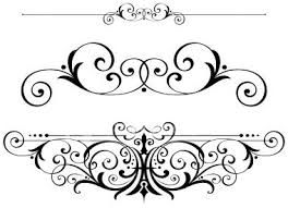 fancy scrolls scrollwork clipart vector fretwork swirls accents rh pinterest com scroll work clipart decorative scrollwork clipart