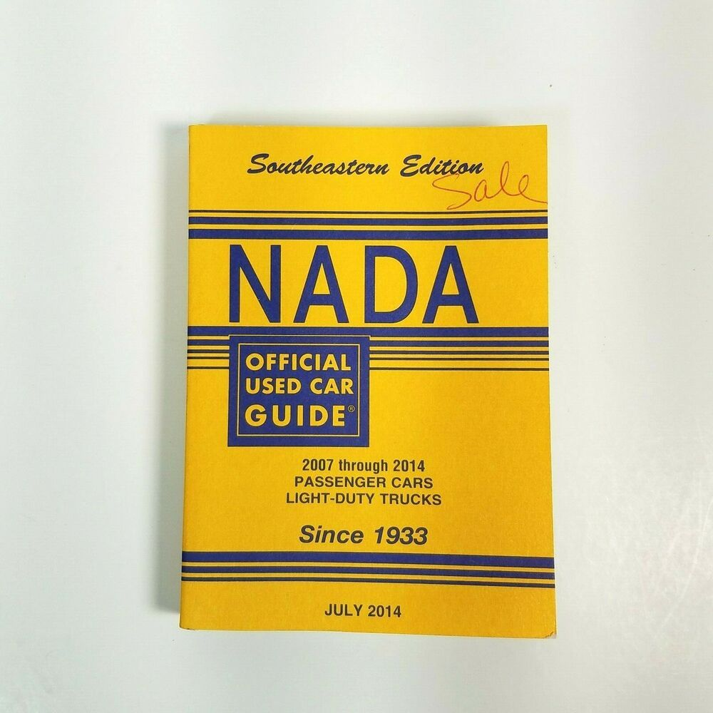 NADA Southeastern Edition Cars Trucks Price Guide Book