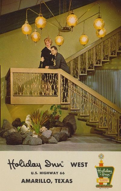 Amazing 1960s Holiday Inn Lobby Vintage Hotels