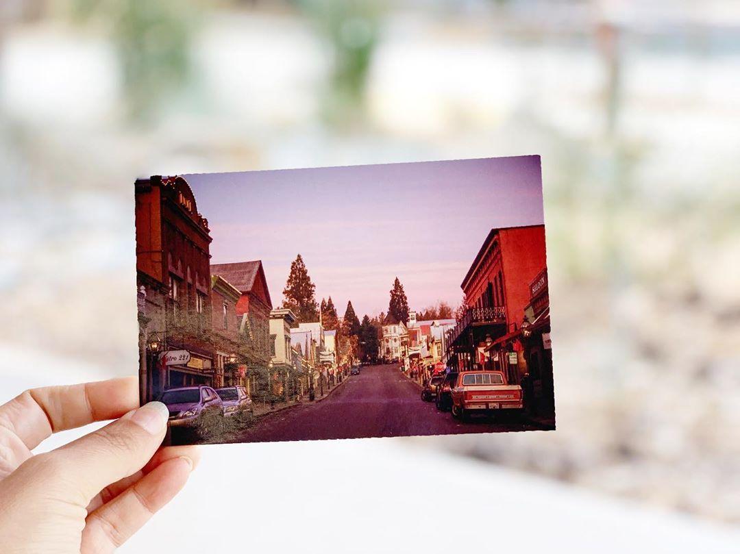 Nevada City Postcards In 2020 City Postcard Nevada City Visit Nevada