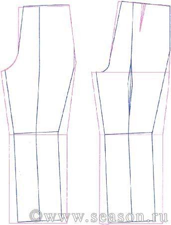 заужение брюк
