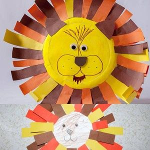 Paper Plate Craft Lions Head - CRAFTING  Edu Gaming References .  sc 1 st  Pinterest & Paper Plate Craft Lions Head - CRAFTING : Edu Gaming References ...