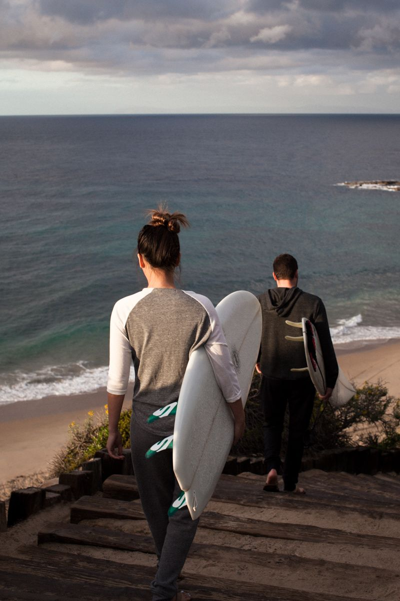 Basics that support your active lifestyle. #surf
