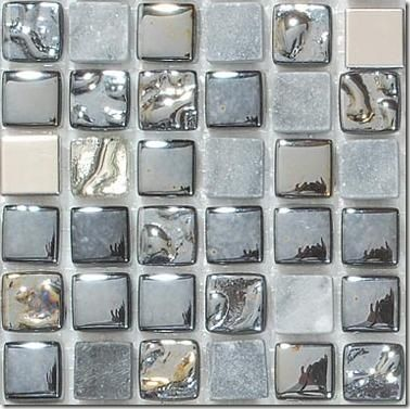 Awesome Mosaic Backsplash From Mirage Glass Tiles In Nyc 1x1 Tiles Are A Combination Of Glass Metal And Stone Like J Mosaic Backsplash Glass Tile Backsplash