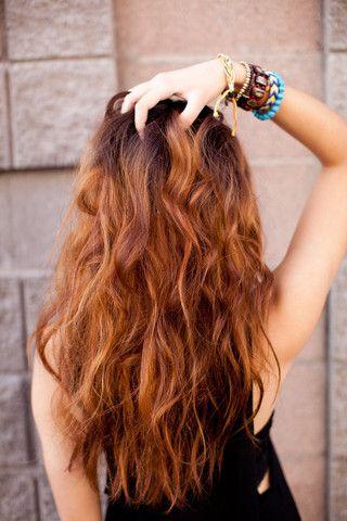 Add some #balayage pieces to your hair to #sun-kiss winter goodbye dollyrockeraz