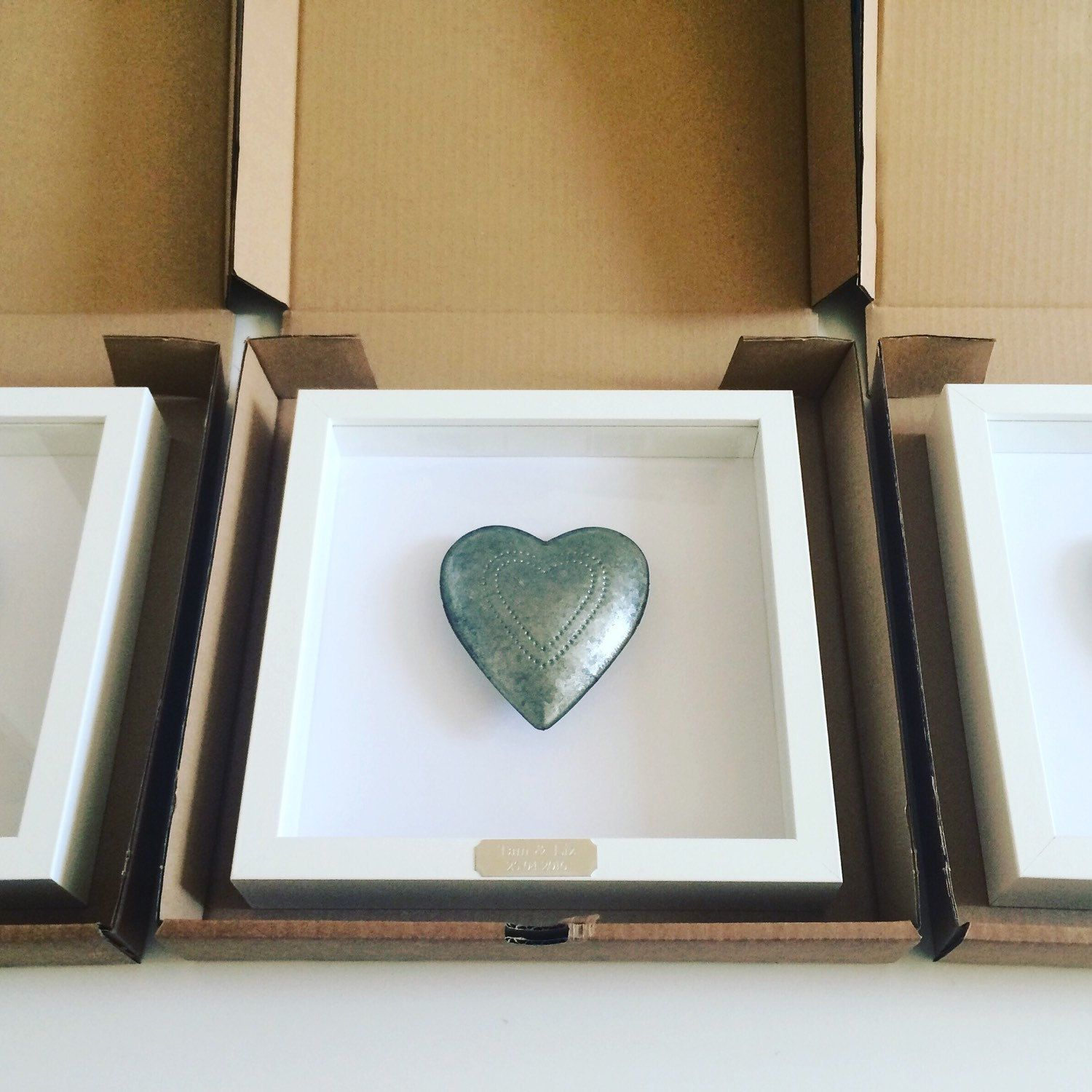 New Orders Ready To Go Tin Heart Wedding Anniversary Bespoke Silver Frame Design Interior Wh 10th Wedding Anniversary Gift 10th Anniversary Gifts Wedding Anniversary Gifts