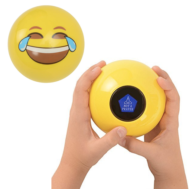 32 Stocking Stuffers Both Kids And Adults Will Love #stockingstuffersforadults A laughing emoji ball that will answer all their burning questions, like is dinner ready yet? and can I get a new phone? Hopefully the ball will do you a solid and answer everything with ask again later. 32 Stocking Stuffers Both Kids And Adults Will Love #stockingstuffersforadults