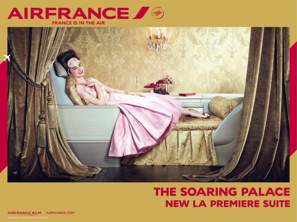Air France エアフランス, エールフランス, 新聞 広告
