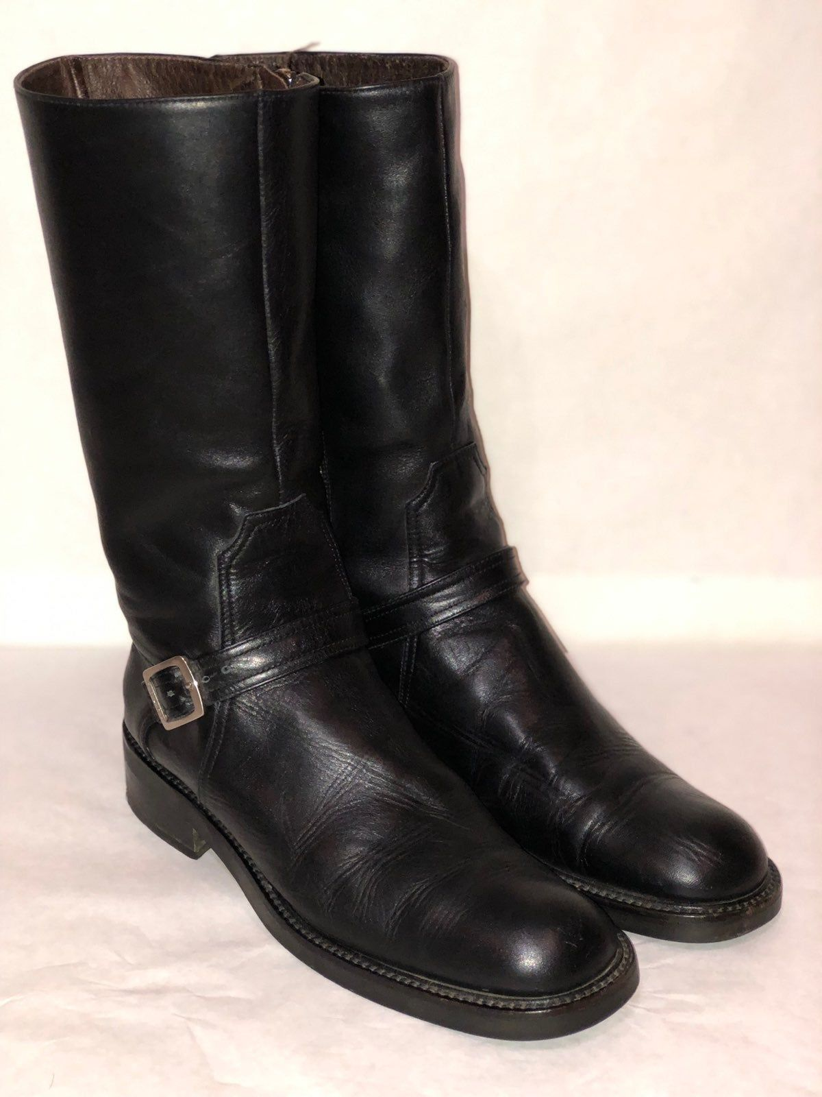 Beautiful Coach Black leather boots