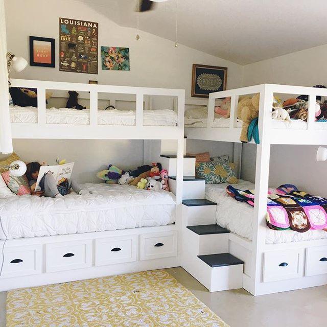 Pin de biti jaz en Kids room | Pinterest | Espacios pequeños, Camas ...