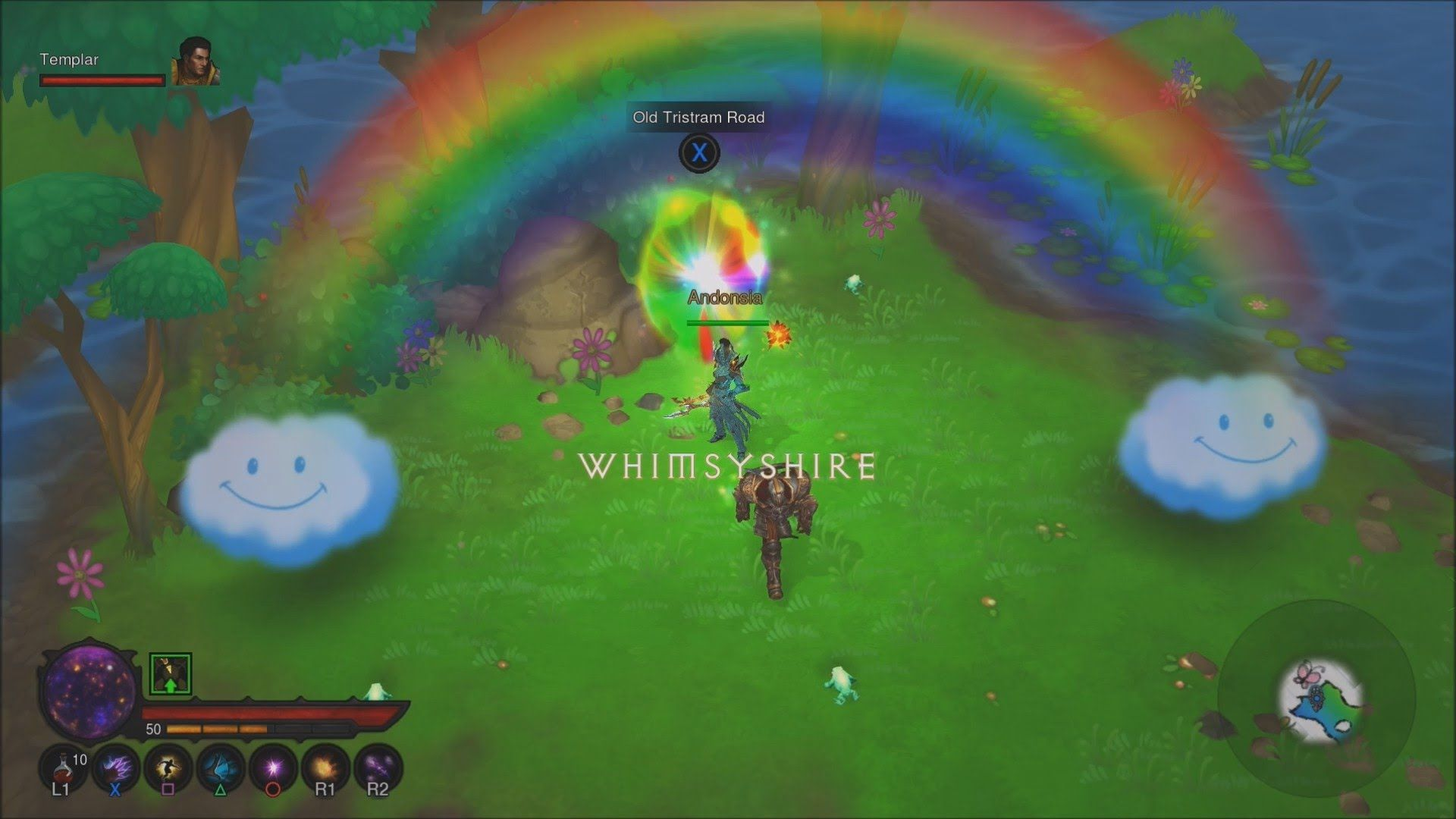 Diablo 3 PS4 Whimsyshire (Pony Level) Gameplay | PS4