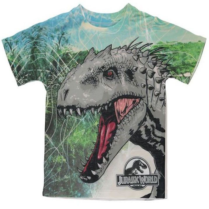 hot sale online sneakers special section Kids Licensed Jurassic World T Rex Printed T Shirt ...