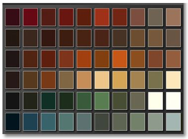 Exterior House Paint Color Chart | ... House Painting Tips ...