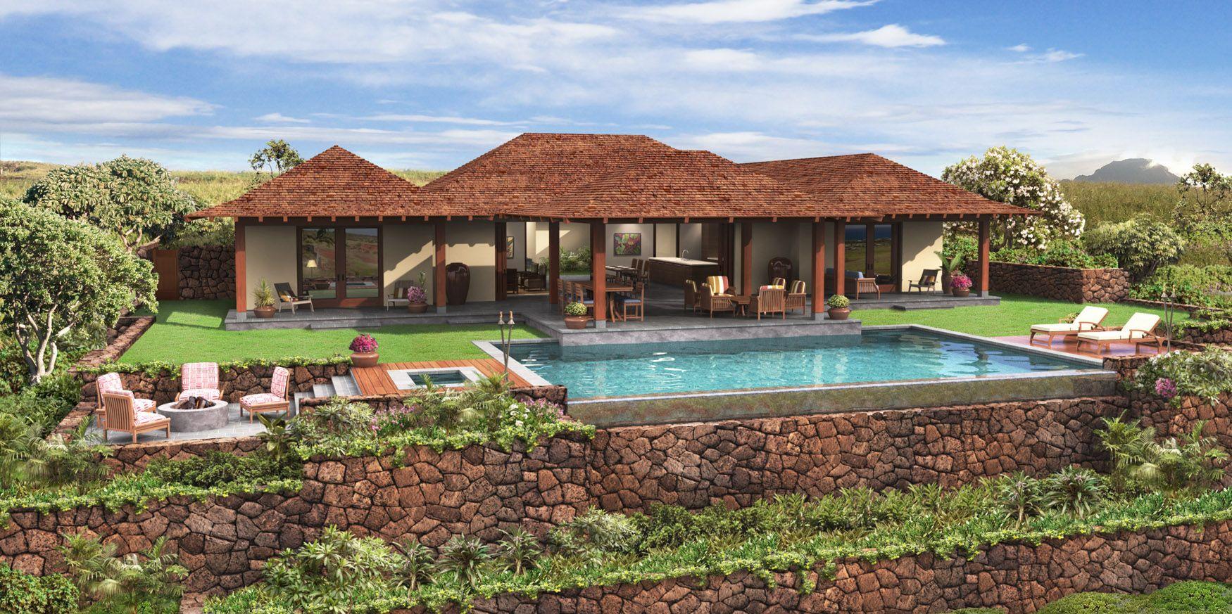 Build Your Own Hawaiian homes, Luxury beach house, Beach