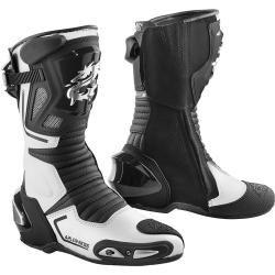 Arlen Ness Sugello Botas de moto Negro Blanco 43 Arlen Ness