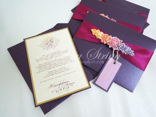 Свадебные приглашения   219 фотографий