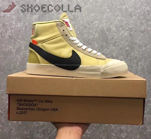 sale retailer 1d2b1 68c4f Discover ideas about Nike Shoes. The 10 Nike Blazer Mid Off White White,  Black Muslin 100 Shoe