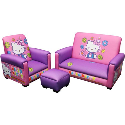 O Kitty Toddler Sofa Chair And Ottoman Bat Playroom New Furniture For The S Christmas Gift Maybe