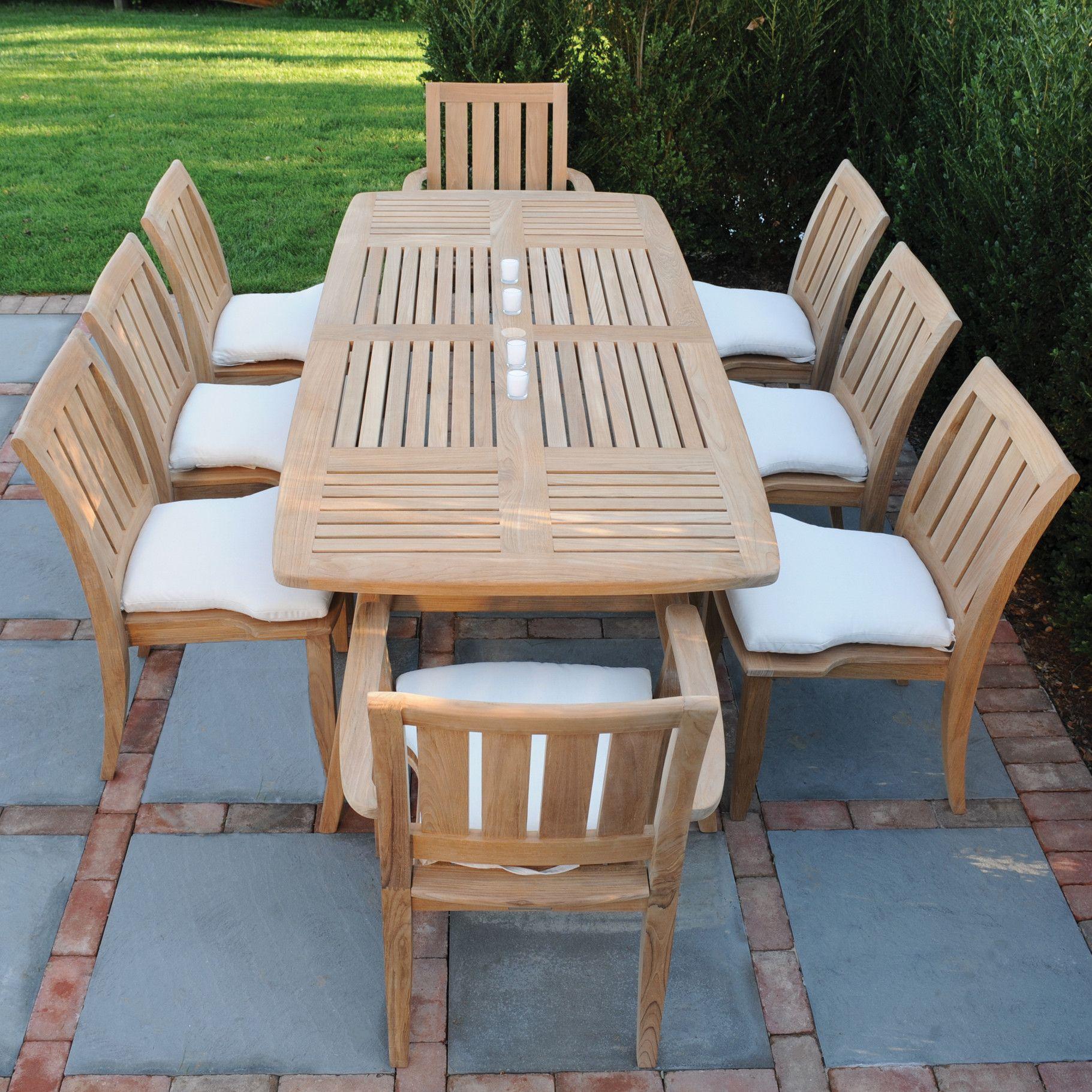 Kingsley Bate Ipanema Rectangular Dining Table Wayfair