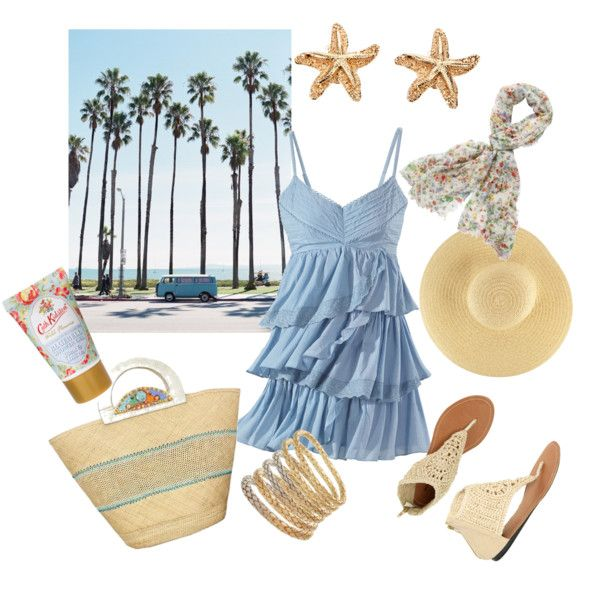 summer afternoon stroll, created by projectfabulous1